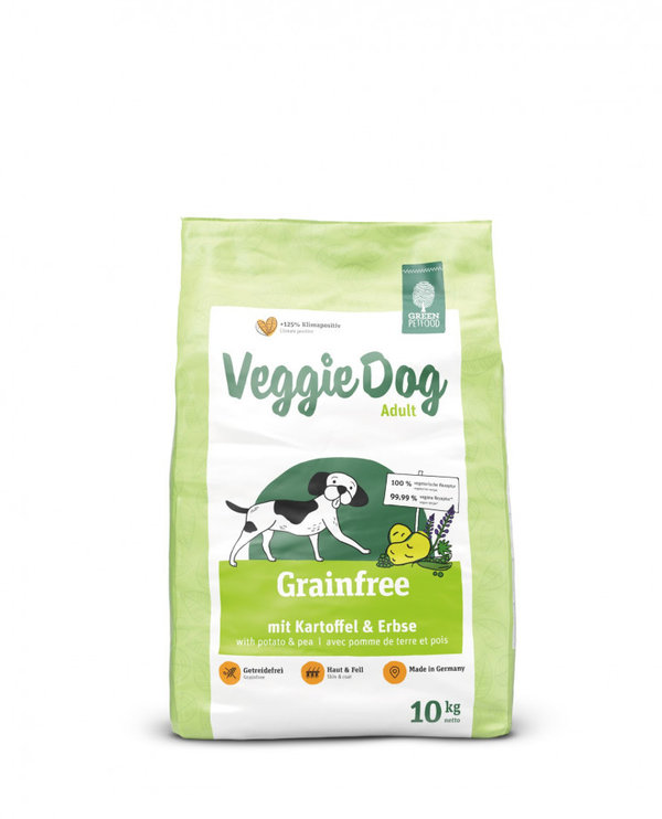 GREEN PETFOOD VeggieDog Grainfree Adult 10 kg