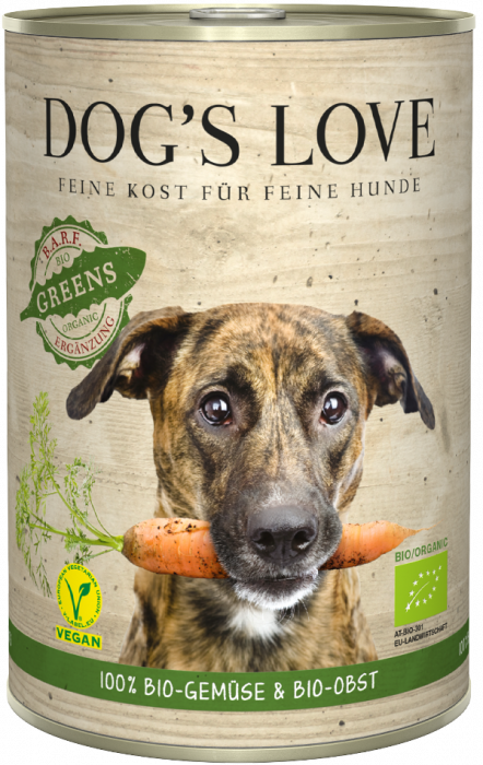 DOG'S LOVE Bio GREENS 400g