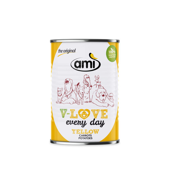 ami V-LOVE YELLOW 400g